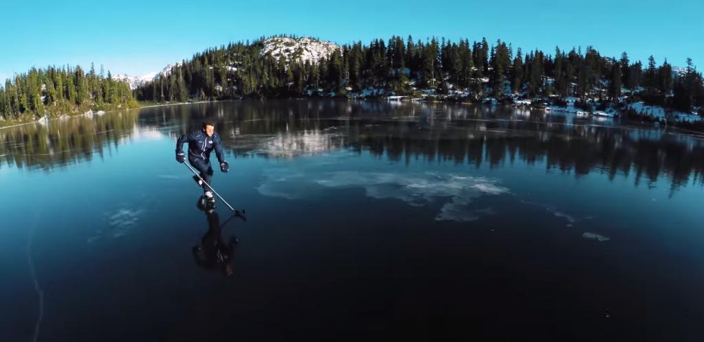Black Ice Skating